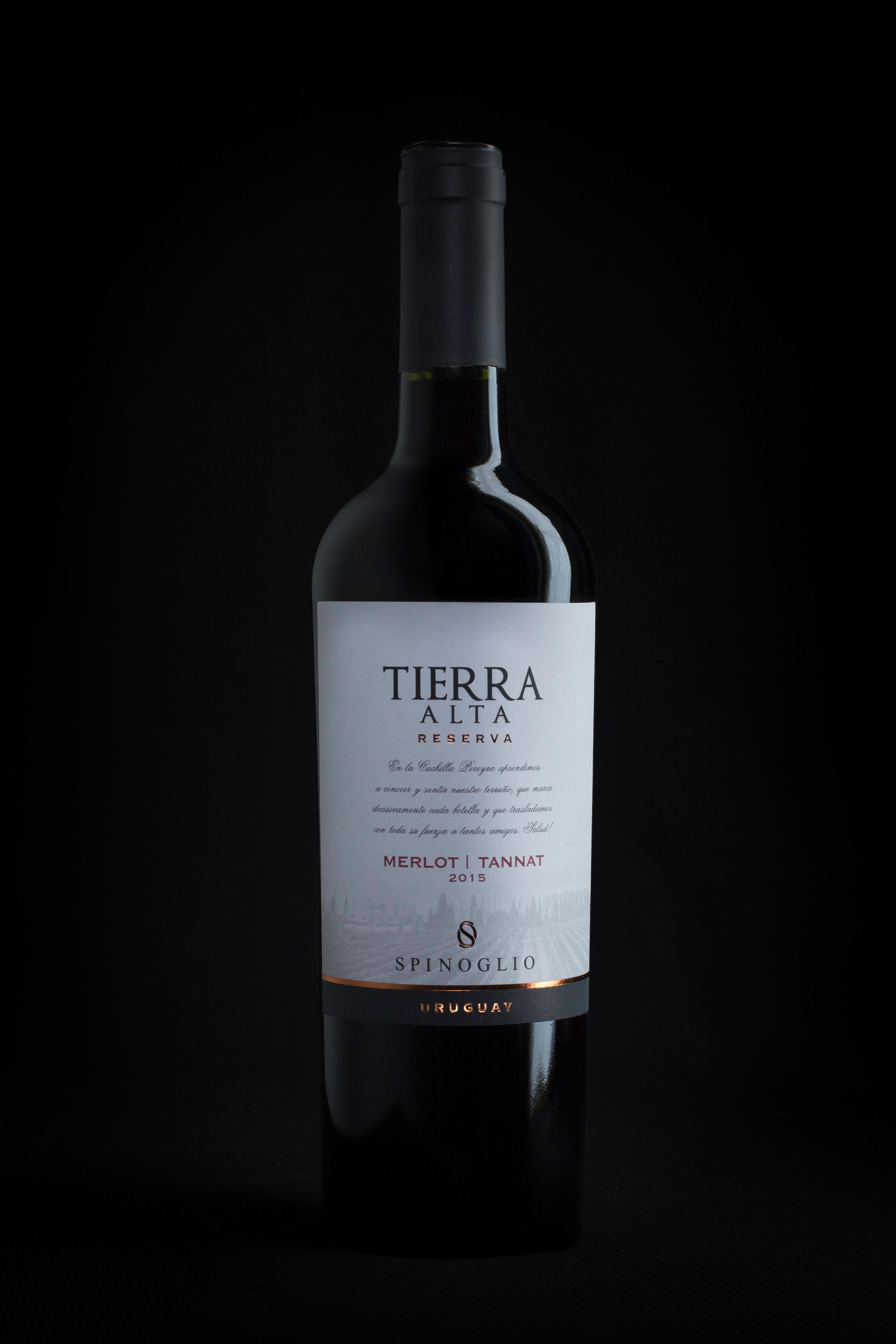 5 TIERRA ALTA RESERVA MERLOT TANNAT 2015